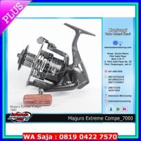 (Recommended) Reel Maguro Extreme Compe size 7000