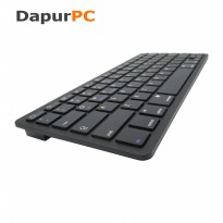 Keyboard Multimedia Wireless Bluetooth 3.0 for Apple iOS/Android/Win