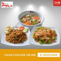 Bakmi Naga Resto - Value Voucher 100.000