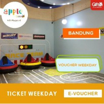 Apple Bee - kids Playground PVJ BANDUNG Weekday