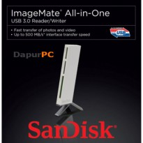 Card Reader Sandisk All-in-One USB 3.0 ImageMate White