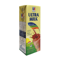 Ultra Susu Uht Steril Slim Coklat Tpk 200ml