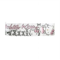 Autofriend AI Sticker Bedar Hello Kitty Full Body for Universal - Hitam