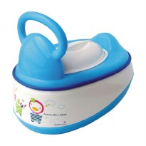 PUKU Baby Potty P17403 5 in 1 Biru Toilet Training