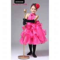 ~Cutevina~ Hotpink Party Dress AC001