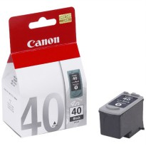 Canon PG-40 Tinta Hitam Black Ink Cartridge Original
