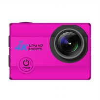 T4Shops Q3H-2 Action Camera Ultra HD Wifi - Pink [16MP/4k/30fps/Sony]