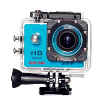 Bella Vision BV-W8 Action Camera - Blue [12 MP/Wifi]