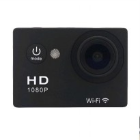 T4Shops W9 Action Cam - Black [1080P Full HD/Wifi Remote]