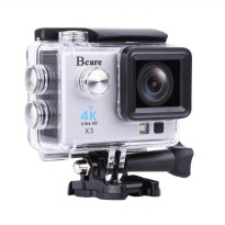 Bcare BCam X-3 Action Camera - Silver [16 MP/SonySensor/4K/2 Inch]