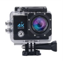 Bcare B-Cam X-3 Action Kamera [WiFi/Ultra 4K/16MP] - Hitam + Free Waterproof + All Mount