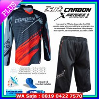 (Best Seller) Jersey sepeda STR Carbon SET