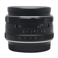 Meike 35mm APS-C F1.7 Lensa Kamera for Nikon1 Mirrorless