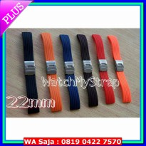22mm rubber strap tali karet jam tangan for seiko citizen orient dll