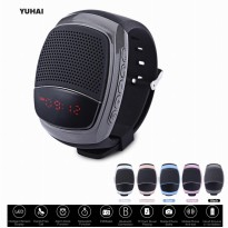 Smart Watch Speaker B90 Mini Bluetooth Speakers With Time Display Screen