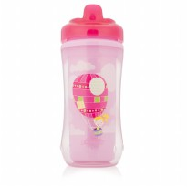 Dr. Browns Hard Spout Insulated Cup Pink Air Balloons 300ml