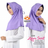 ORLIN HIJAB ZAHRA SERUT BAHAN JERSEY VALLEN HIJAB SIMPLE PET ANTHEM