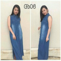 Dline Denim Dress Sleeveless GB 06