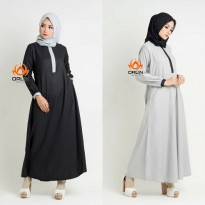 ORLIN GL-035 EXCLUSIVE GAMIS POLOS KATUN TOYOBO TWO TONE ALL SIZE BUSUI