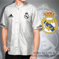 Kemeja Koko Short Sleeve Madrid