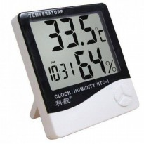 Thermometer Hygrometer Digital HTC 01