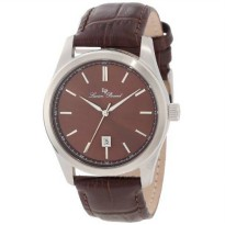 [macyskorea] Lucien Piccard Mens 11568-04 Eiger Brown Dial Brown Leather Watch/18459038