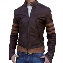 Jaket Semi Kulit Wolverine Brown