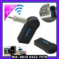 (Dijamin) car wireless usb bluetooth adapter music + call audio