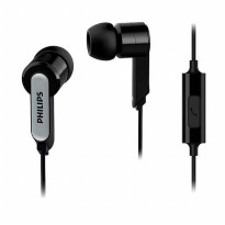 Philips In-Ear Headphone with Mic SHE1405 - Black Kabel