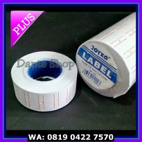 (Sale) Kertas Label Harga JOYKO 1 baris ( Price Labeller 5500M )