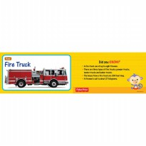 Flash Card Things That Go by Fisher Price