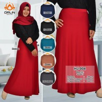 ROK JERSEY POLOS KODE HJ-004 UMBRELLA ALL SIZE BY INDOHIJAB GROSIR