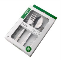 Tanica Deli Sendok Garpu Set 20 Pieces - Stainless Steel