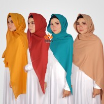 ORLIN PASHMINA SABYAN MATT DIAMOND CREPE GRADE A BY INDOHIJAB GROSIR