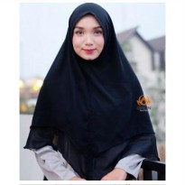 ORLIN KHIMAR MAHIRA BAHAN CERUTTY PREMIUM DUA LAYER NON PET