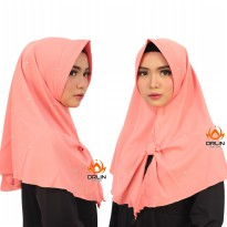 ORLIN HIJAB AUDY BAHAN BUBBLE CREPE MUTIARA PET ANTHEM
