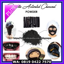 (Diskon) Bamboo Activated Charcoal Powder 100gr / Serbuk Arang Aktif