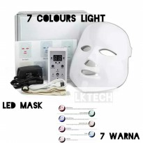 pdt light Masker led 7 colour warna led mask masker