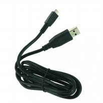 Kabel Data Micro USB BlackBerry Original High Speed Data Transfer- Hitam