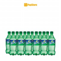 Sprite dengan Lemon lime 390 ml Isi 12 botol