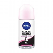 NIVEA Deodorant Roll-On Invisible Black & White Radiant & Smooth 50ml