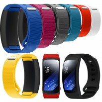 Silicone Rubber Band Strap for Samsung Gear Fit 2