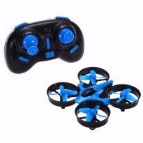 JJRC H36 Drone Mini with Led 6-Axis Gyro Headless Mode RTF 2.4GHz - Biru