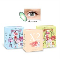 <NEW> X2 Glam by Exoticon Softlens (Diameter 15 mm dan seperti NOBLUK)