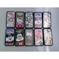 SOFT JACKET + RING STAND DISNEY & SANRIO for SAMSUNG