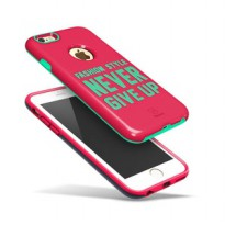 Baseus Fashion Style Series For iPhone 6 Plus/6S Plus Pink & Tosca
