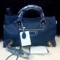 BALENCIAGA EDGE BLUE 38 HIGH QUALITY. ORI LEATHER (SDH KAYA MIRROR)