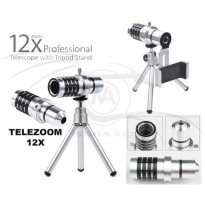 Telescope Camera Kamera Telephoto Lens With Tripod Case Kit Praktis Mudah Di Bawa Best Seller