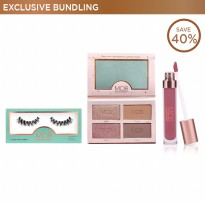 [Exclusive Bundling] Luxury Faux Lashes Glam Series + Glowgetter Palette + Ulti-Matte Lip Creme