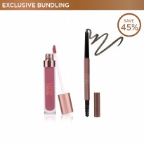 [Exclusive Bundling] Ulti-Matte Lip Creme + Pro Brow Sculptor